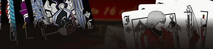 デビルメイクライトランプ -Devil May Cry Playing Cards-