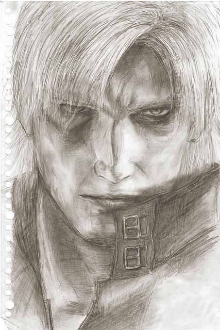 DMC2 Dante sketch