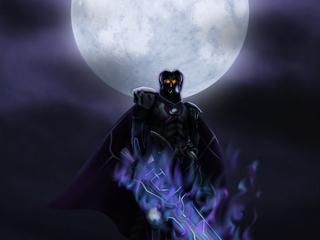 月下の魔界騎士