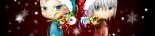 ねんどろいど風DMC3ダンテ&バージルを、クリスマスバージョンにしました。