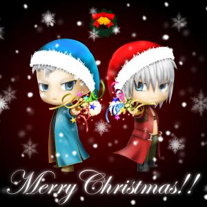 Permanent Link to ねんどろいど風DMC3ダンテ&バージルを、クリスマスバージョンにしました。