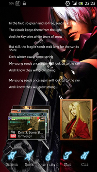 Devil May Cry HomeScreen2 -Dante-