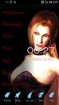 Devil May Cry HomeScreen3 -Trish-