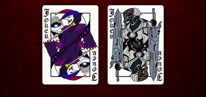 DEVIL MAY CRY PLAYING CARDS STANDARD DECK cards4 デビルメイクライトランプ スタンダードデッキ カード4