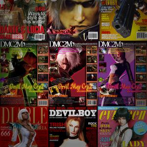 Permanent Link to Devil May Cry2 MAGAZINEを再現 + 実在する雑誌をDMCでパロディしてみました。