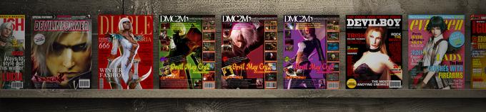 Devil May Cry2 MAGAZINEを再現 + 実在する雑誌をDMCでパロディしてみました。